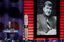 NASCAR Hall of Fame inductee Ken Squier