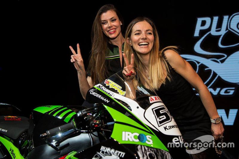 Kawasaki Puccetti Racing presentatie
