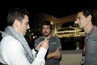 Carlos Rodriguez Santiago, Gamer & Founder of G2 Esports, Fernando Alonso, McLaren and Pedro De La Rosa