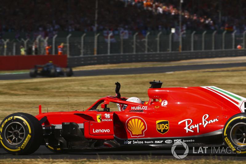 Себастьян Феттель і Ferrari здобули перемогу