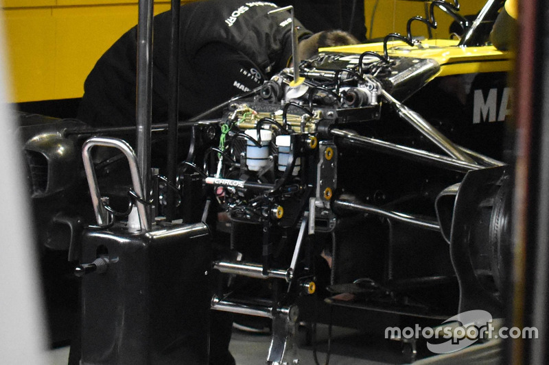 Renault Sport F1 Team R.S. 18 detail front