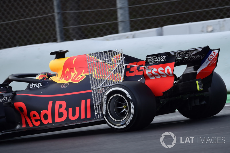 Max Verstappen, Red Bull Racing RB14, aero sensor