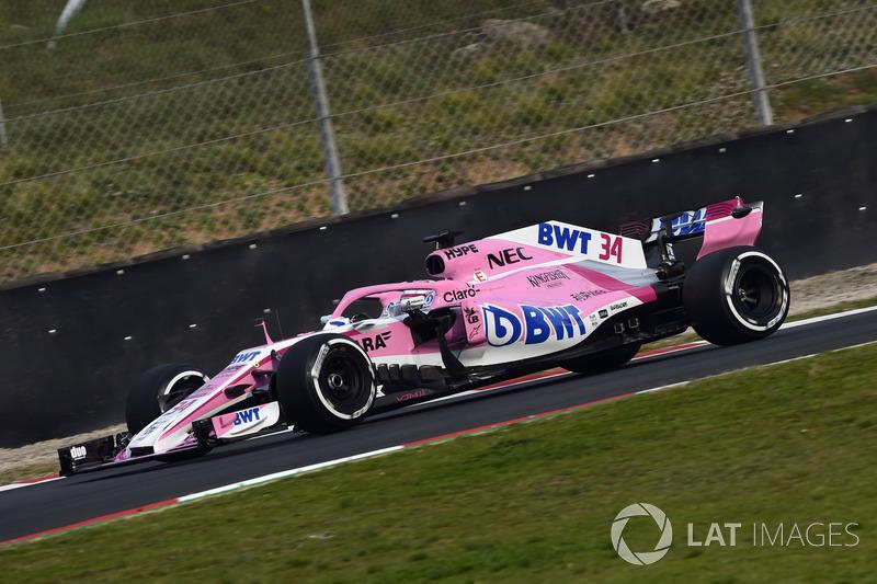 Nikita Mazepin, Sahara Sahara Force India F1 VJM11