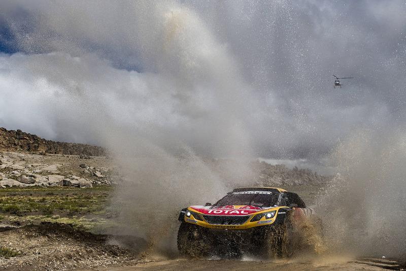 #300 Peugeot Sport Peugeot 3008 DKR: Стефан Петрансель, Жаль-Поль Коттре