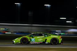 #11 GRT Grasser Racing Team Lamborghini Huracan GT3, GTD: Rolf Ineichen, Mirko Bortolotti, Franck Perera, Rik Breukers