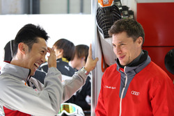 Kazuki Nakajima, Team Tom's with Loic Duval, Audi Sport Team Phoenix