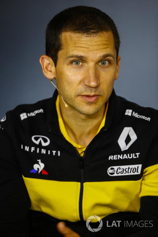 Remi Taffin, director de operaciones de Renault Sport F1