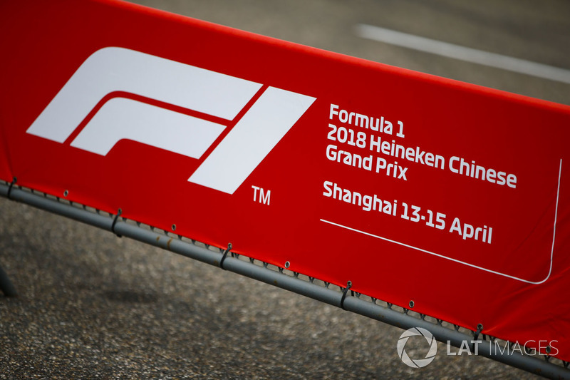 Heineken Chinese Grand Prix sign
