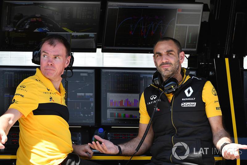 Alan Permane, Cyril Abiteboul, Renault Sport F1