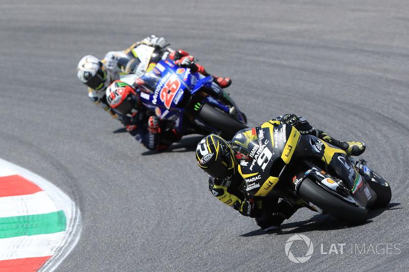 Danilo Petrucci, Pramac Racing, Maverick Vinales, Yamaha Factory Racing.