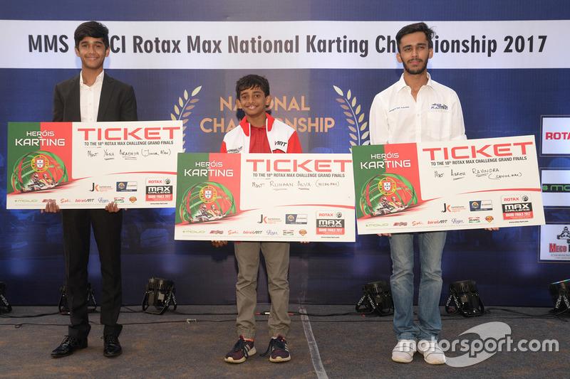 Rotax Max Finals (Alva, Ibrahim, Aradhya)