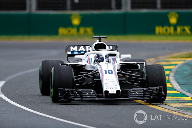 WILLIAMS: Stroll 1 x 0 Sirotkin
