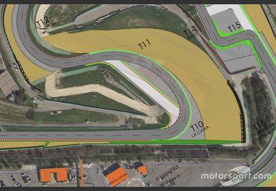 Obras en el Circuit de Barcelona-Catalunya