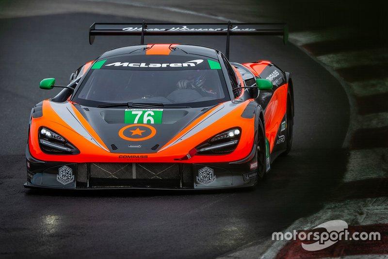 Anuncio Compass Racing McLaren