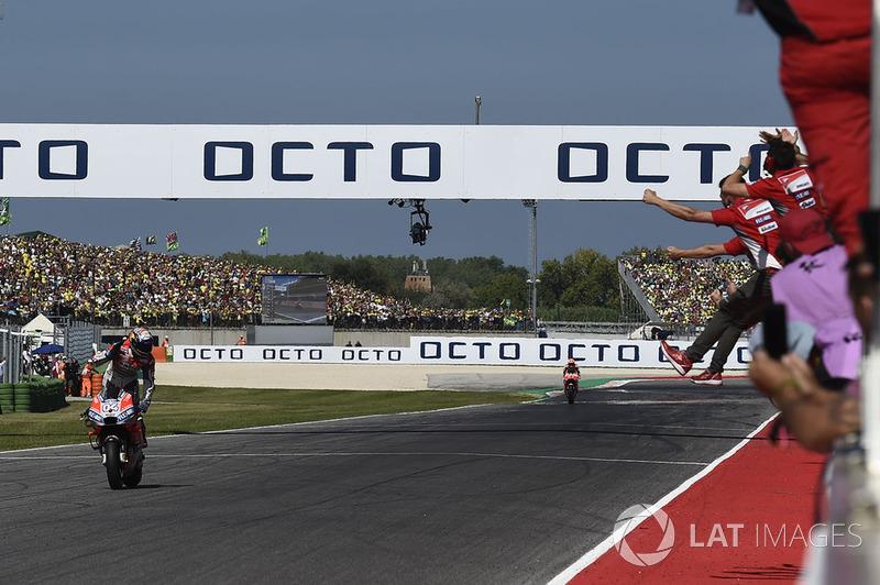 22. Gran Premio de San Marino 2018: Andrea Dovizioso, Ducati Team