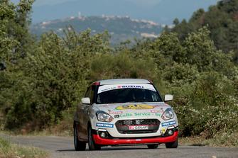 Fabio Poggio, Alessandra Cavallotto, Suzuki SWIFT Boosterjet 1.0 RSTB 1.0, Alma Racing