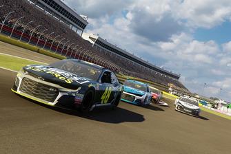 Captura de pantalla del videojuego NASCAR Heat 3