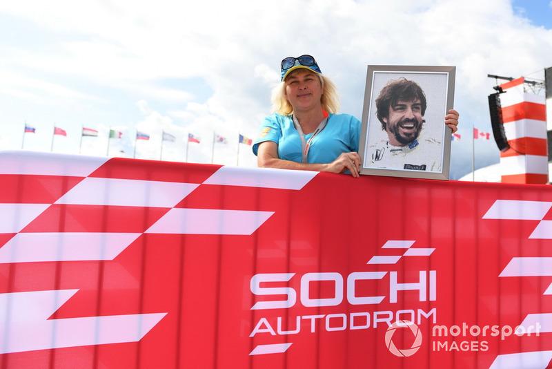 Fan de Fernando Alonso, McLaren