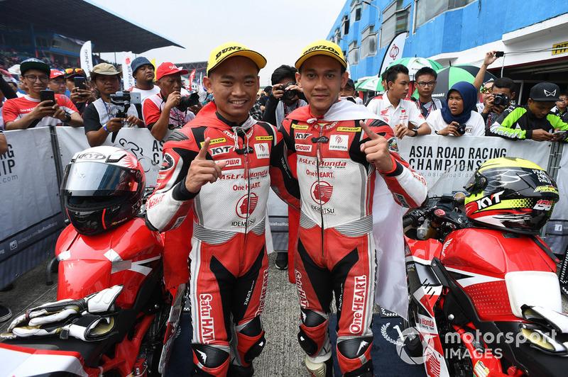 Awhin Sanjaya dan Rheza Danica, Astra Honda Racing Team