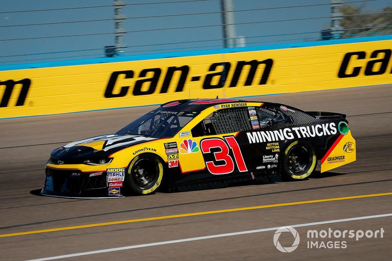 22. Ryan Newman, Richard Childress Racing, Chevrolet Camaro Cat Global Mining