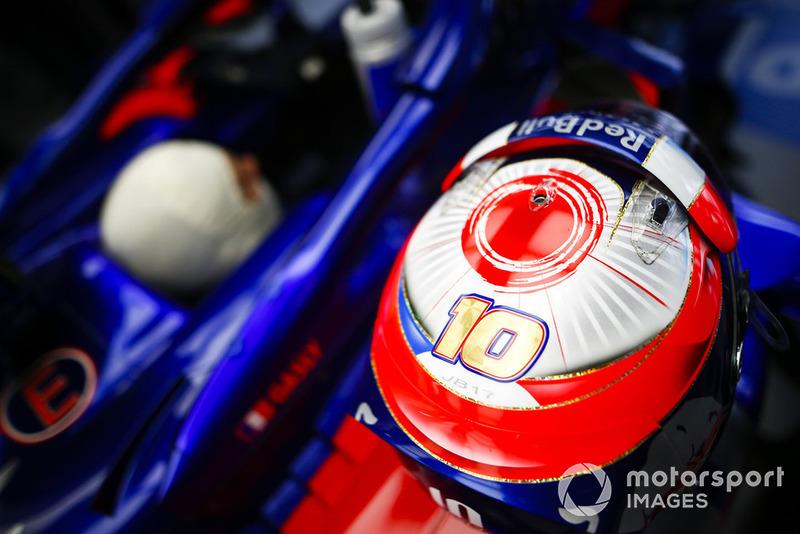 Шолом П'єра Гаслі, Scuderia Toro Rosso STR13