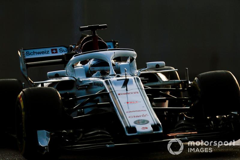 Kimi Raikkonen, Sauber C37 Joe Portlock