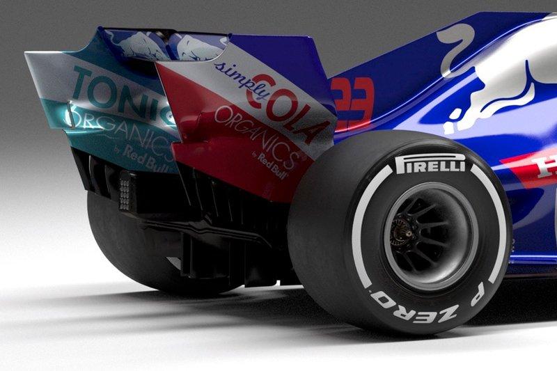 Scuderia Toro Rosso STR14 arka kanat