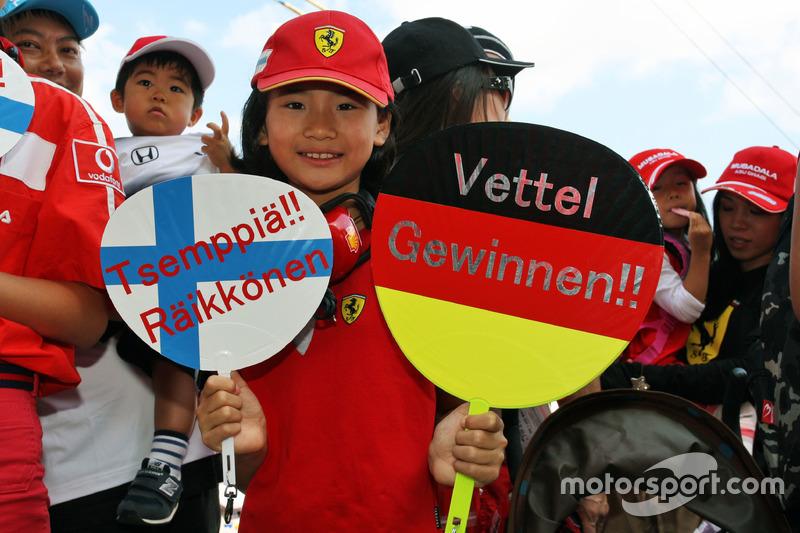 A young Ferrari fan