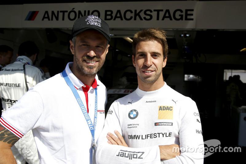 Tiago Monteiro and António Félix da Costa, BMW Team Schnitzer, BMW M4 DTM