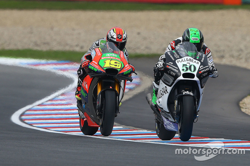 Eugene Laverty, Aspar MotoGP Team, Alvaro Bautista, Aprilia Racing Team Gresini