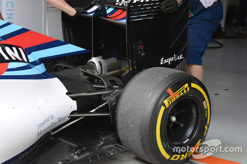 Williams FW38 Heck Detail