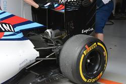 Williams FW38 detalle trasero