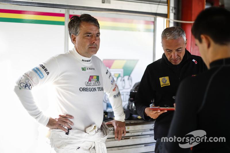 #5 Oregon Team, Renault RS01: Rodrigo Baptista