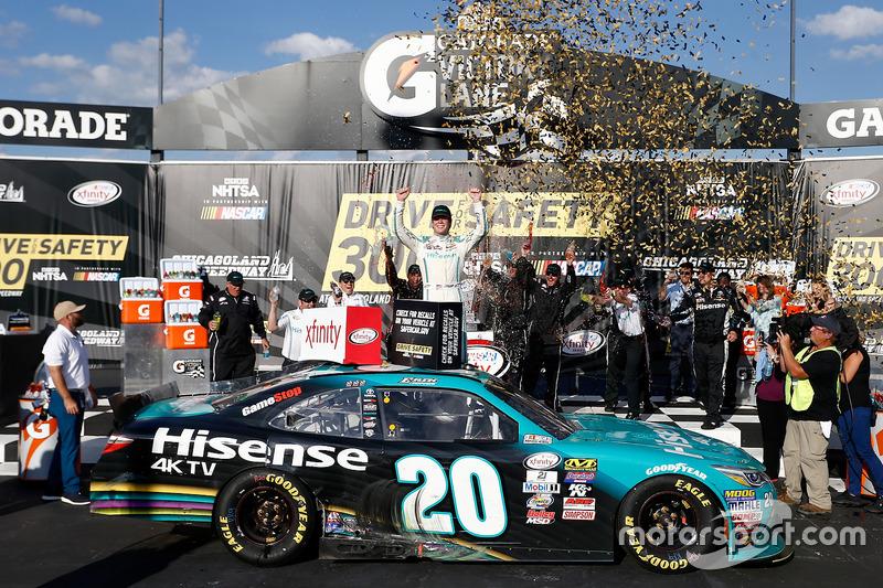 Sieger Erik Jones, Joe Gibbs Racing, Toyota