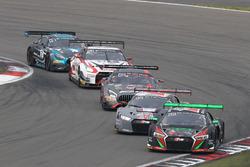 #28 Belgian Audi Club Team WRT, Audi R8 LMS: Connor De Phillippi, Will Stevens, Christopher Mies