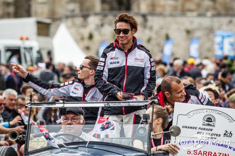 #6 Toyota Racing Toyota TS050 Hybrid: Mike Conway, Kamui Kobayashi, Stéphane Sarrazin