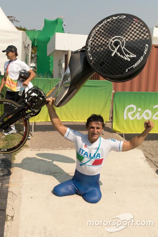 Alex Zanardi aux Jeux Paralympiques de Rio