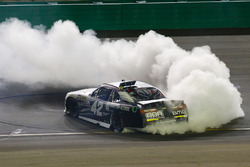 Race winner Tyler Reddick, Chip Ganassi Racing Chevrolet celebrates