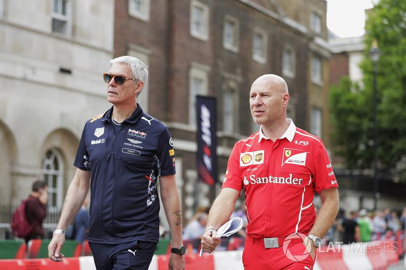 Джок Кліа, головний інженер Ferrari