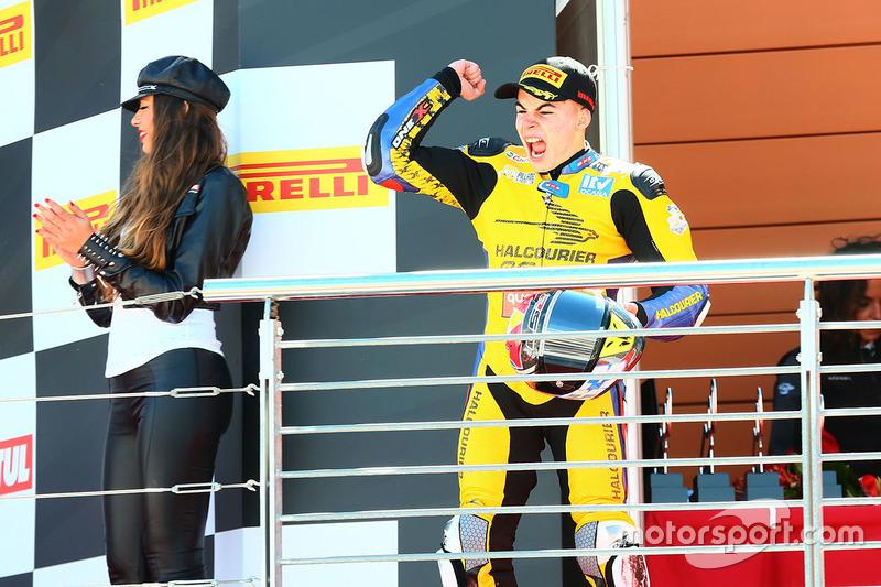 Podium SSP300: second place Daniel Valle, Halcourier Racing