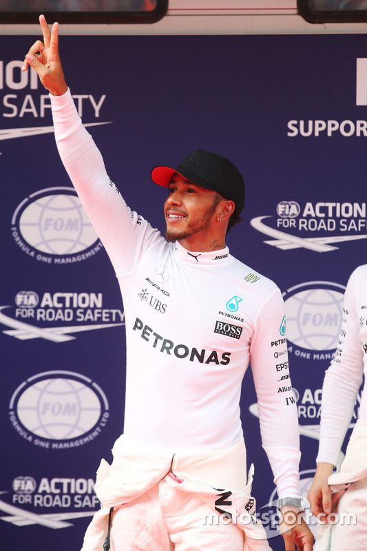 Poleman Lewis Hamilton, Mercedes AMG