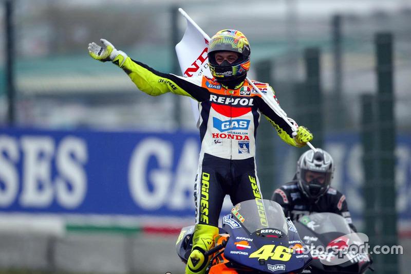 4: Валентино Россі (2002, Honda)