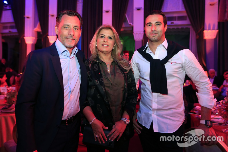 François Ribeiro, Eurosport Motorsport Director, Mehdi Bennani, Sébastien Loeb Racing, Citroën C-Ely