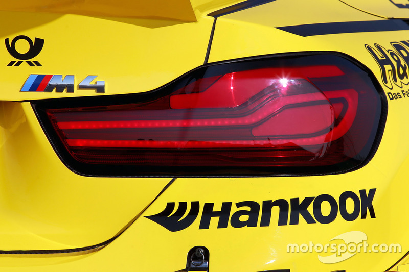 Detail rear, BMW M4 DTM