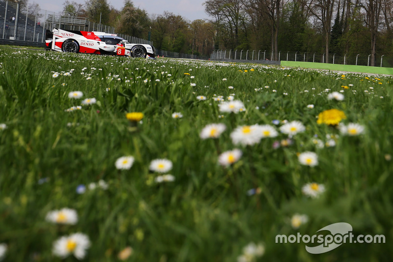 #8 Toyota TS050 Hybrid: Anthony Davidson, Nicolas Lapierre, Kazuki Nakajima