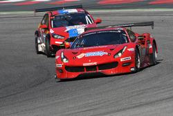 #11 Scuderia Praha, Ferrari 488 GT3: Jiri Pisarik, Josef Kral, Matteo Malucelli; #58 VDS Racing Adventures, MARC Focus V8: Raphael van der Straten, Pierre Dupont, Jose Close