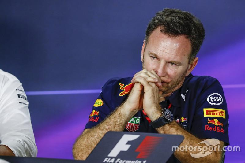 Pressekonferenz: Christian Horner, Red Bull Racing