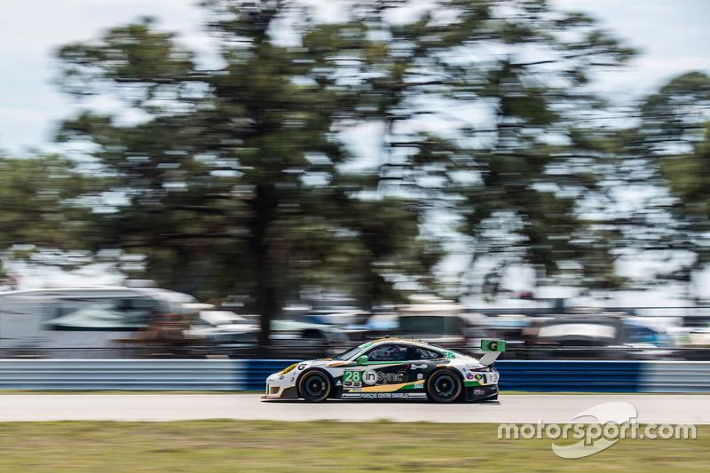 #28 Alegra Motorsports, Porsche 911 GT3 R: Daniel Morad, Michael de Quesada, Michael Christensen, Spencer