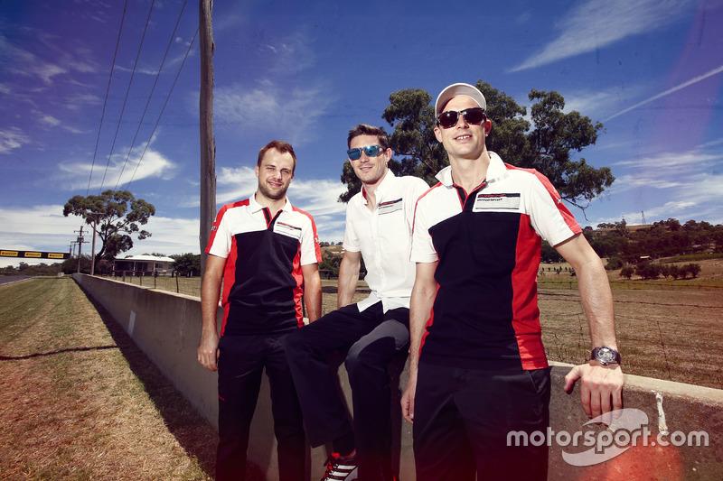 Laurens Vanthoor, Kevin Estre, Earl Bamber, Walkinshaw GT3