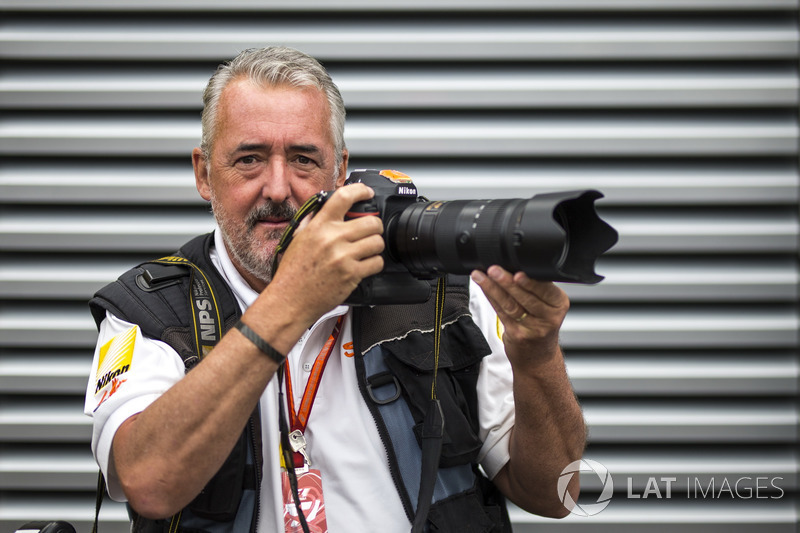 Mark Sutton, Sutton Images F1 Photographer
